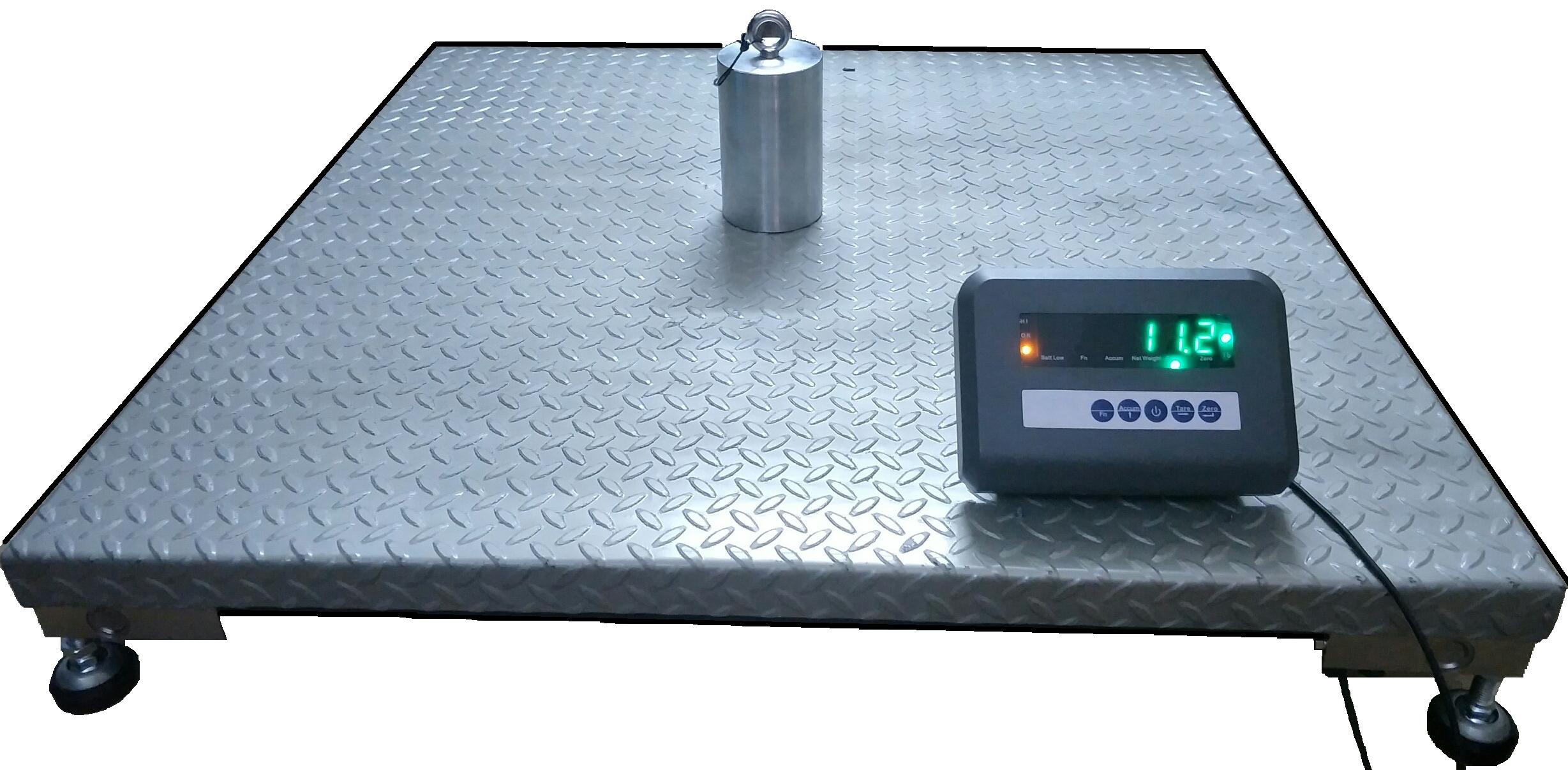 Cân sàn điện tử 电子地塝秤
